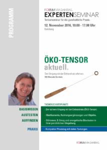 Expertenseminar Öko-Tensor 2016