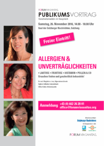 Publikumsvortrag Allergien 26.11.2016