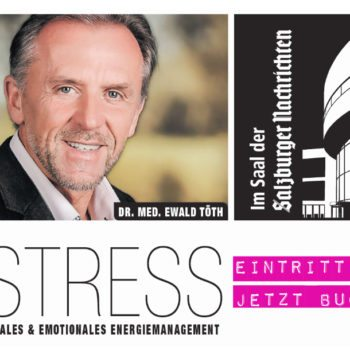 Publikumsvortrag Stress + Energiemanagement