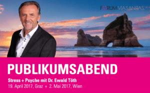 Publikumsabend Dr. Ewald Töth - Wien