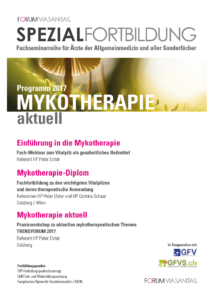 Mykotherapie-Diplom Programm 2017