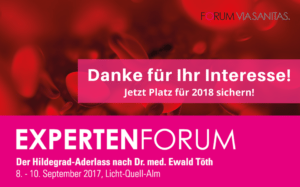 EXPERTENFORUM Hildegard-Aderlass nach Dr. med. Ewald Töth