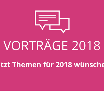 PUBLIKUMSVORTRÄGE 2018 - Umfrage