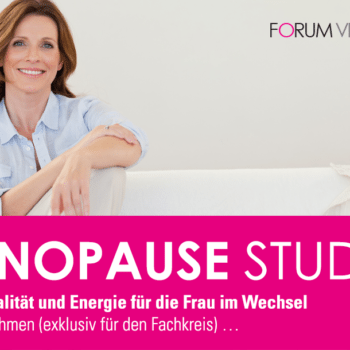 Menopause Studie - Lebensqualität und Energie für die Frau im Wechsel