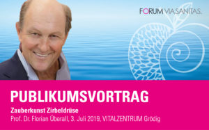 Publikumsvortrag - Zauberkunst Zirbeldrüse mit Prof. Florian Überall