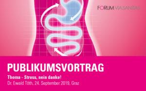 Publikumsvortrag mit Dr. Ewald Töth: Stress, nein danke!
