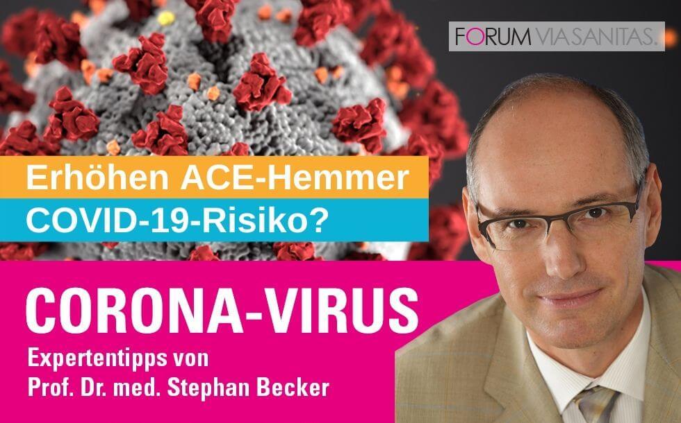 Erhöhen ACE-Hemmer Corona-Virus-Risiko?