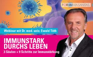 Immunstark durchs Leben: Webinar mit Dr. Ewald Töth