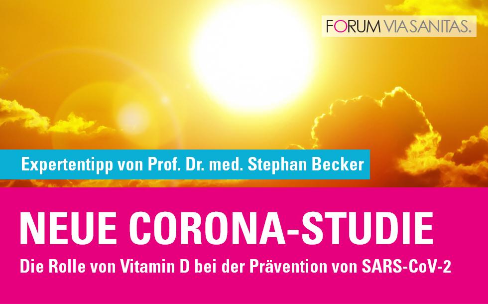 Neue Corona-Studie zur Schutzwirkung Vitamin D